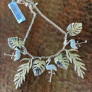 Flamingo Necklace By Natasha NWT